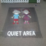 Play Area Markings in Ashley 9