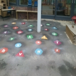 Play Area Markings in Little Bromwich 11