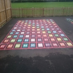 Maths Playground Floor Designs in Barford 2