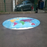 Playground Games Markings in Addington 2