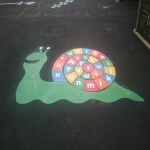 Community Park Surface Marking in Rotchfords 8