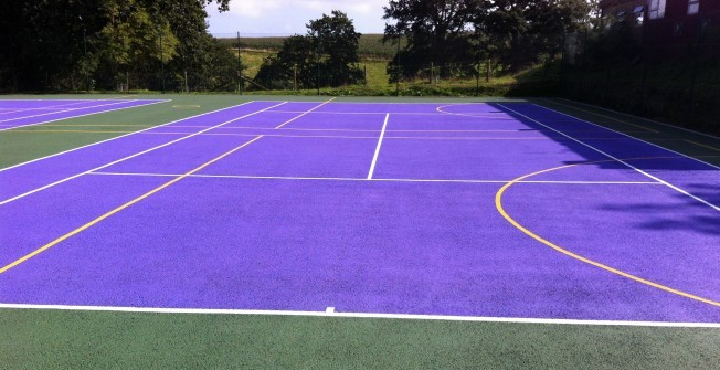School Playground MUGA in Andoversford