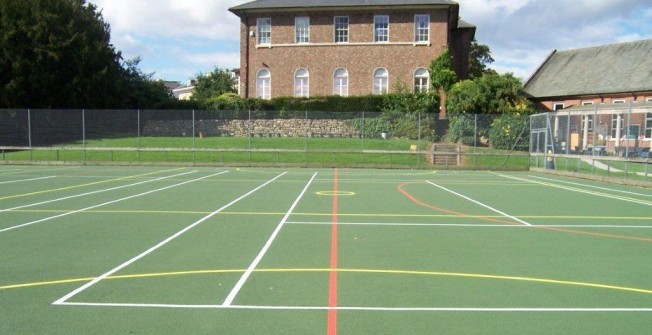 Multi Purpose Tarmac Court in Nottinghamshire