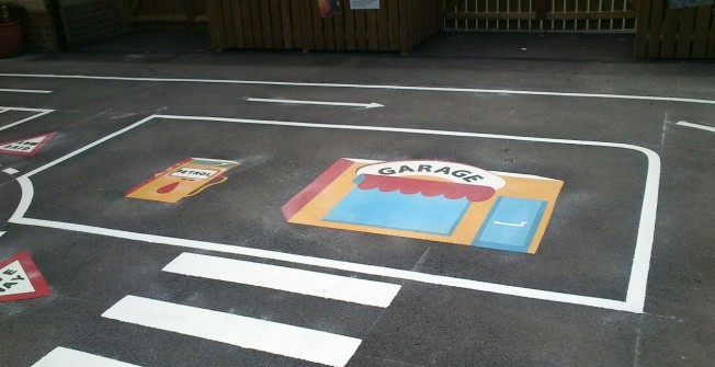 Kindergarten Playground Design in Bellanrigg
