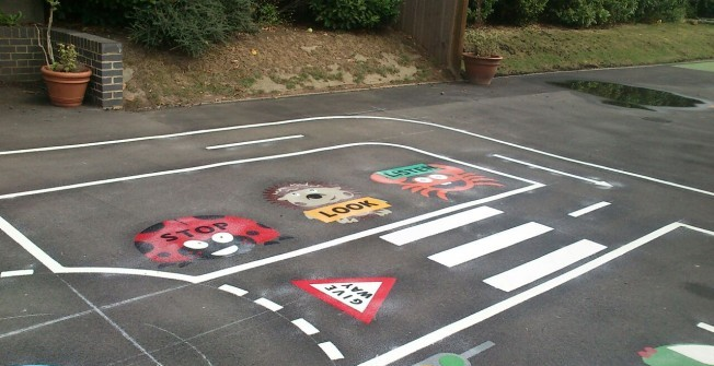 School Play Flooring Design in Alford
