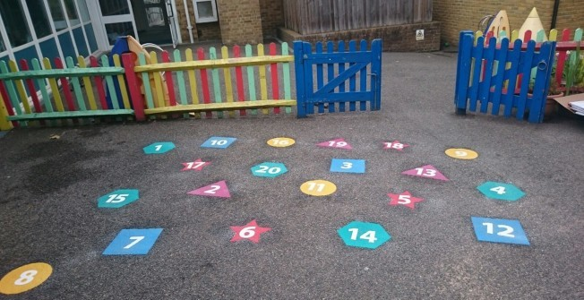 Kids' Play Flooring in Aldington