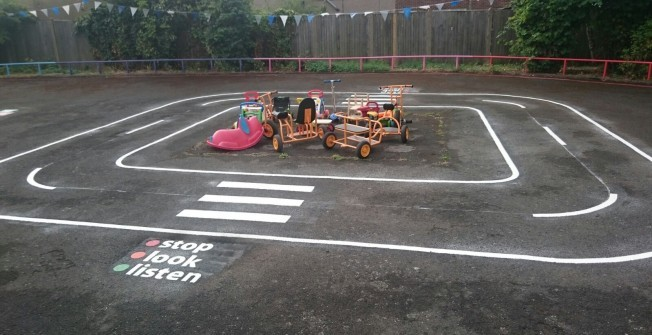 Pre School Recreational Area in Rhoscefnhir