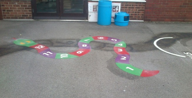 EYFS Recreational Areas in Alstone