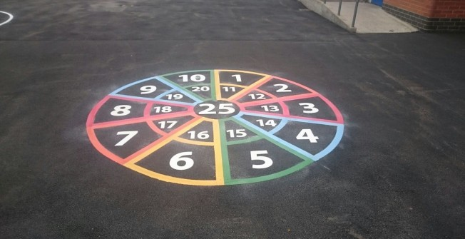 Recreational Surface Graphics in Arlington