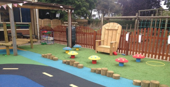 Kindergarten Yard Design: Kindergarten Outdoor Play Area