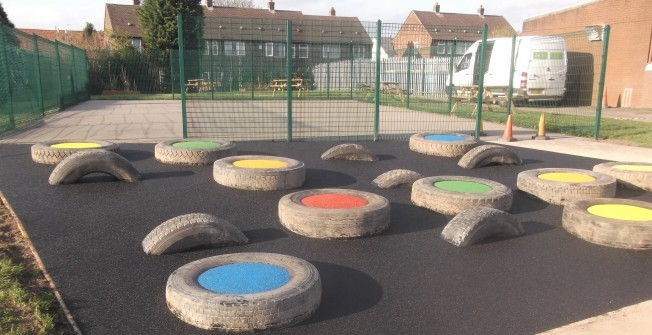 Playground Activities in Glan-y-don